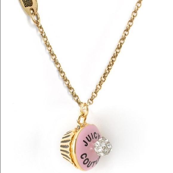 Juicy Couture Jewelry - Juicy Couture cupcake birthday necklace